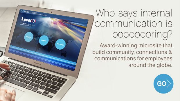 Award winning internal communication web application helping corporate employees to learn more about their company.